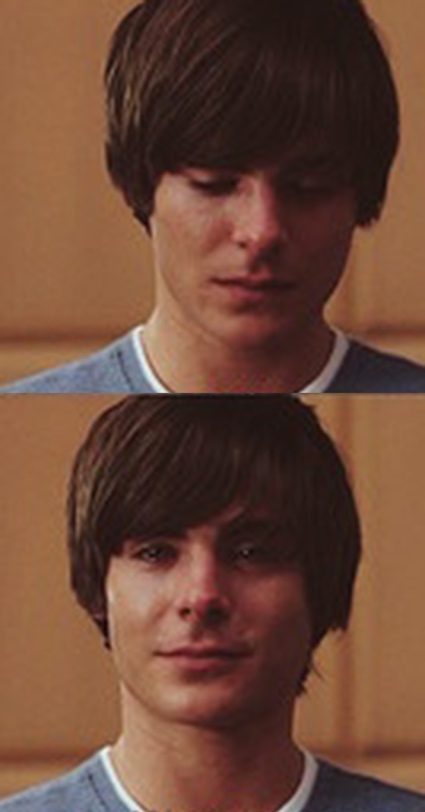 I love this scene in this movie! <3 Zac Efron is really cute when he is crying. I really enjoy the movie 'Seventeen Again'.