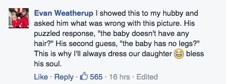 This Mom's Reaction to Her Baby's Daycare Wardrobe Malfunction Is Fantastic