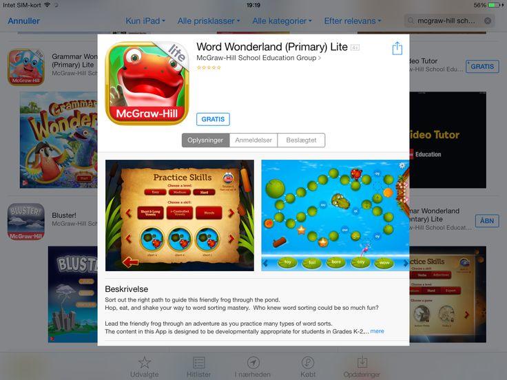 App, spil med ord