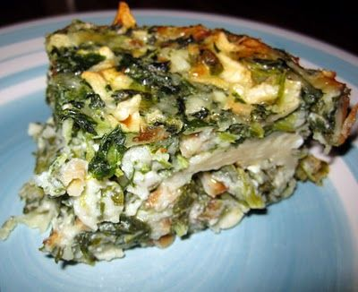 Spinach Matzah Quiche for Passover. This is one of my favorite Passover recipes of all time.