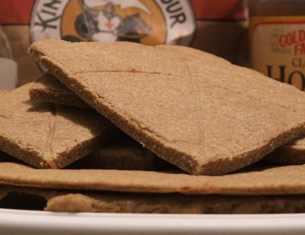 Unleavened Whole Wheat Bread from Food.com: This is a whole wheat communion bread recipe that our kids used to love out of the freezer in the summer.This is also authentic to the early centuries, if you use olive oil in place of the veggie oil and goats milk, as the staple bread of the times.