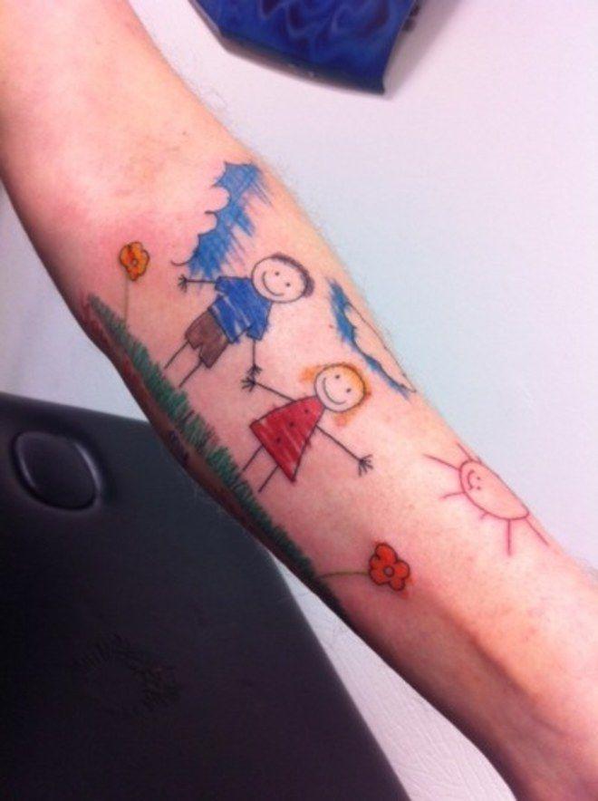 70 tatouages de mamans qui ont leur b b dans la peau enfant art et amour - Tatouage amour et fidelite ...