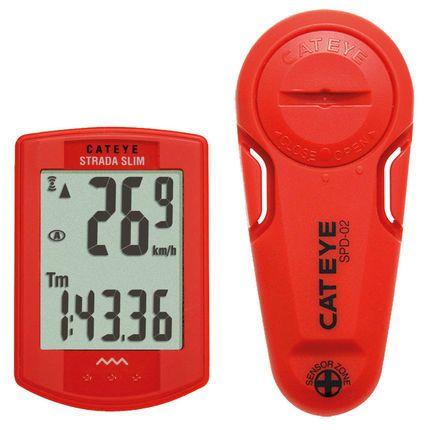 Wiggle | Cateye Strada Slimline Head Unit and Road Sensor | Cycle Computers