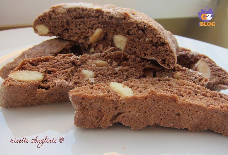 Deliziosi biscotti cacao e mandorle