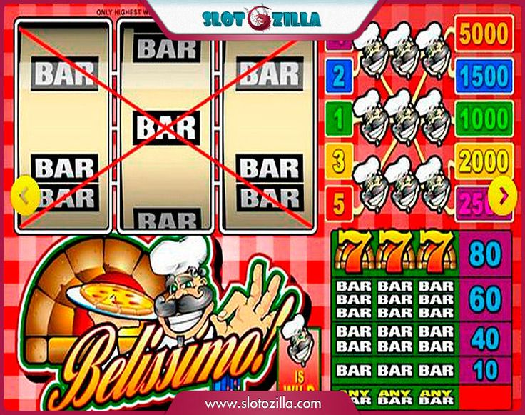 Belissimo! free #slot_machine #game presented by www.Slotozilla.com - World's biggest source of #free_slots where you can play slots for fun, free of charge, instantly online (no download or registration required) . So, spin some reels at Slotozilla! Belissimo! slots direct link: http://www.slotozilla.com/free-slots/belissimo
