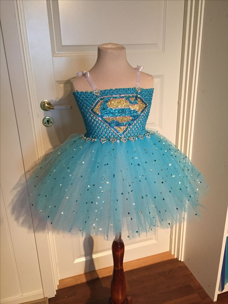 Superman dress costume prinsess tutu