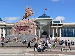 Ulán Bator. Capital de Mongolia.