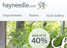 A friend showed me this. freaking awesome >> hayneedle coupon --> http://www.couponavengers.com/hayneedle-coupon/