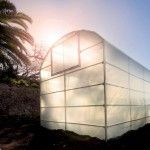 Beautiful greenhouse in the late afternoon winter sun.  Cape Town, South Africa. http://urbanfreedom.co.za/2013/08/ozcf-installation-greenhouse-envy/