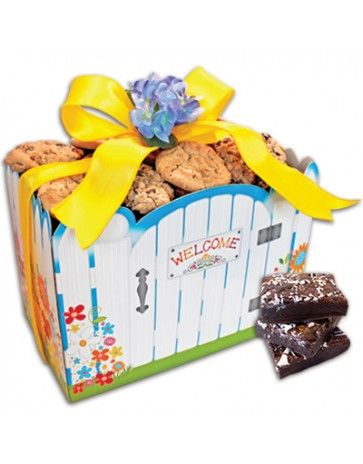 Nothing is more inviting to wish someone well in there new home... Cookies or Cookies and Brownies galore !