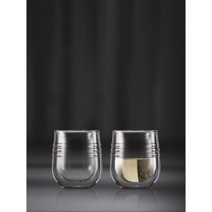 Bodum SKÅL Witte Wijnglas - Set van 2