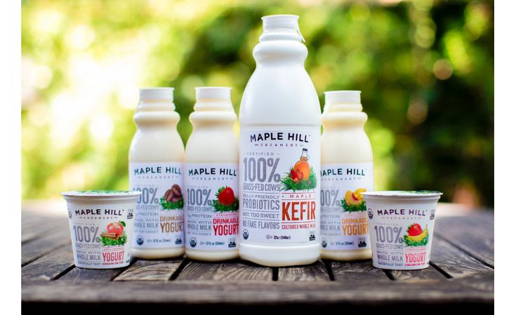 Coming soon to a grocery shelf near you: New flavors! Whole Milk Kefir in Maple, Whole Milk Drinkable Yogurt in Strawberry, Coffee and Mango Peach, and Cream on Top in Strawberry Banana and Apple Cinnamon. More 100% grass-fed goodness to love…