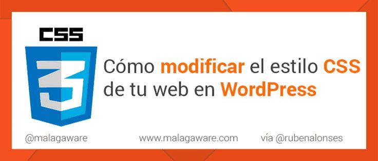 Cómo cambiar el estilo CSS de una plantilla WordPress http://blgs.co/CMHee4