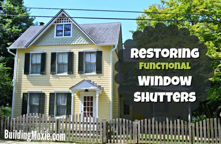 25 Best Ideas About Wood Shutters On Pinterest Rustic
