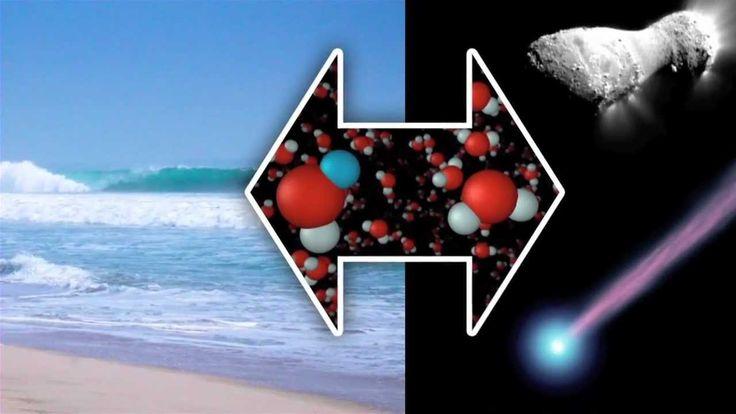 Waar komt het water op onze aarde vandaan? - SRON
