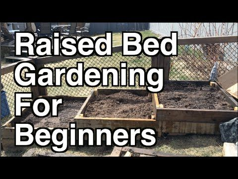 how to build a raised garden box on a slope