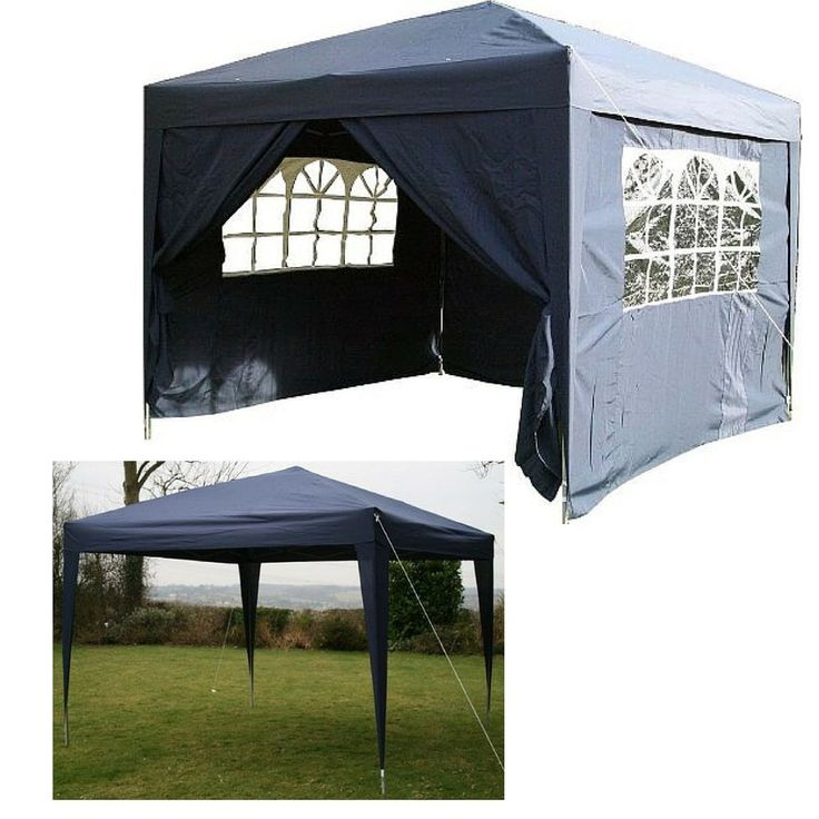 Garden Pop Up Gazebo Patio Waterproof Capony C&ing Tent Party Wedding Bbq Kits  sc 1 st  Pinterest : garden tents and gazebos - memphite.com