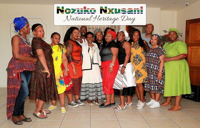 New Dimensions: Heritage Day At Nozuko Nxusani. A wonderful celebration.