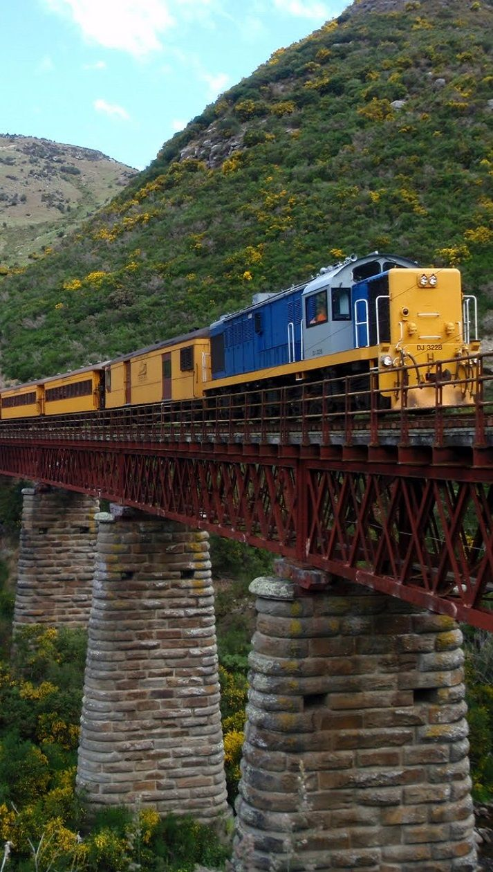 Taieri Gorge Railway - yes, this Was the easiest way into central Otago.