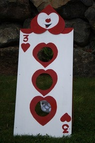 Alice in Wonderland Bean Bag Toss Game by ThePurplePeacockShop, $49.00