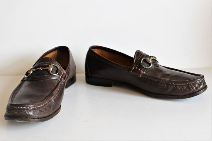 Vintage Gucci loafers for men: Gucci Shoes | Vintage Gucci, 8D Men, Loafers, Brown leather, Horsebit, Slip ons, Vintage 80s, Gucci shoes, Loafers for Men, Shoes Men http://etsy.me/2FnLqjC #clothing #shoes #men #brown #guccishoes #vintagegucci #8