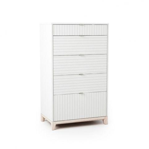 Высокий комод Case (белый)