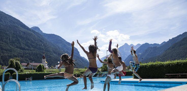 Badeurlaub im #tiroleroberland #Pfunds #Sommer