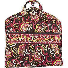 "VERA BRADLEY GARMENT TRAVEL BAG - PUCCINI Pattern BRAND NEW with the ORIGINAL TAGS attached in the VHTF Beautifill Fall Colors found in the ""PUCCINI"" Retired pattern.."