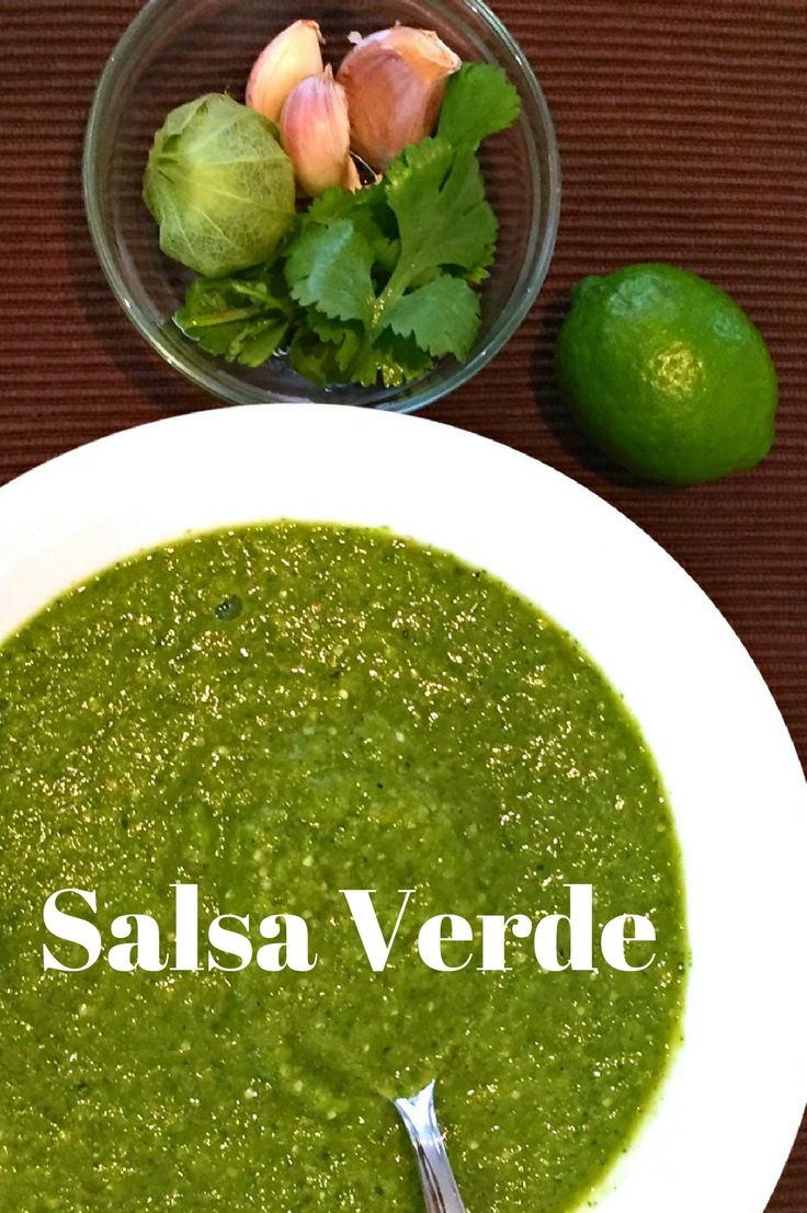 Charred Salsa Verde - fresh bright flavors and a great alternative to tomato salsas. Click to get the full recipe!