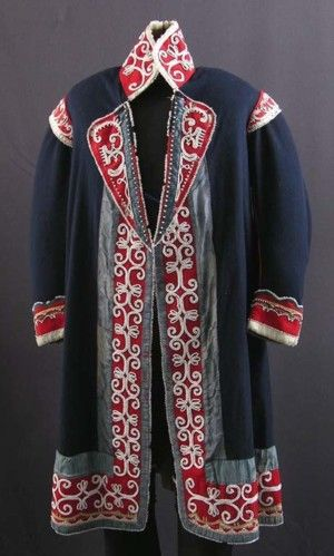 Mi'kmaq ceremonial coat c. 1825 from the collection of the New Brunswick Museum