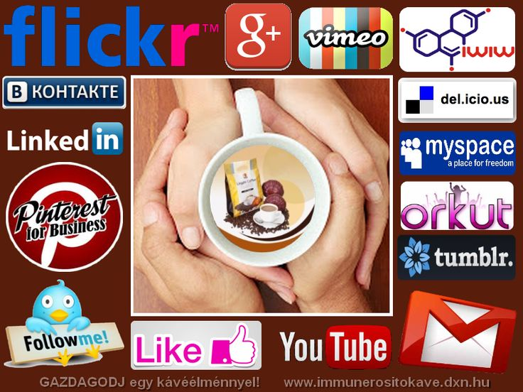 Social Network - Online hálózatépítés http://www.immunerositokave.dxn.hu