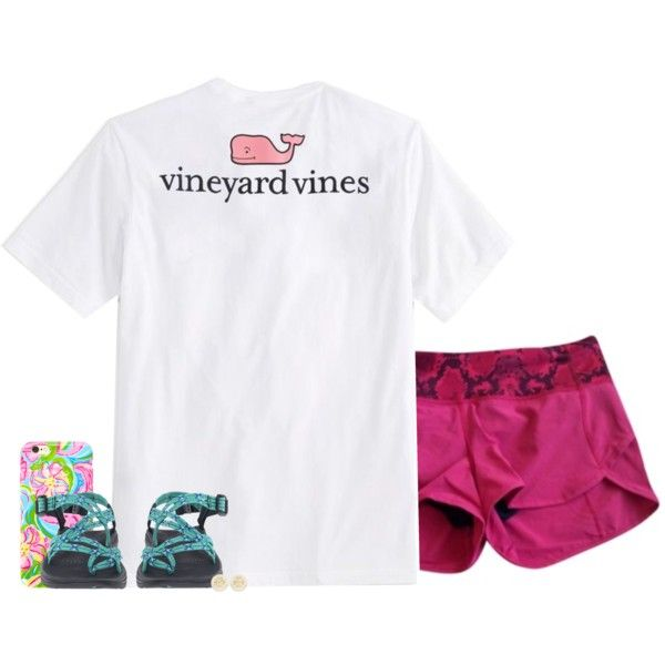 where to get discounted chacos?? by conleighh on Polyvore featuring polyvore, fashion, style, Vineyard Vines, Chaco, Tory Burch, Lilly Pulitzer and clothing