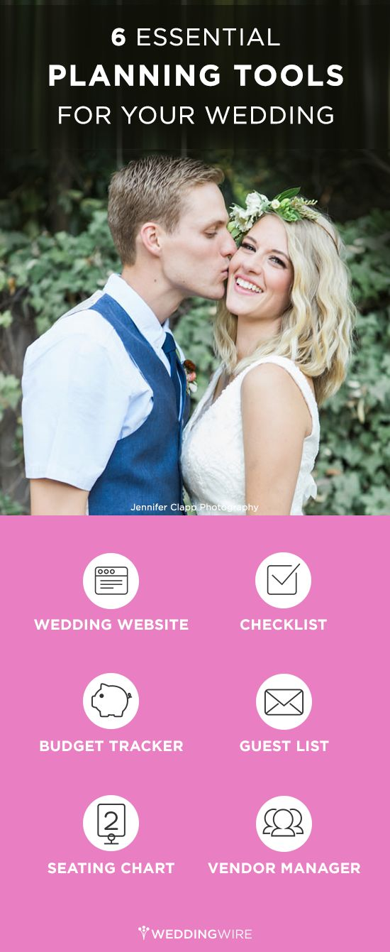 From wedding checklists to budget tracking sign