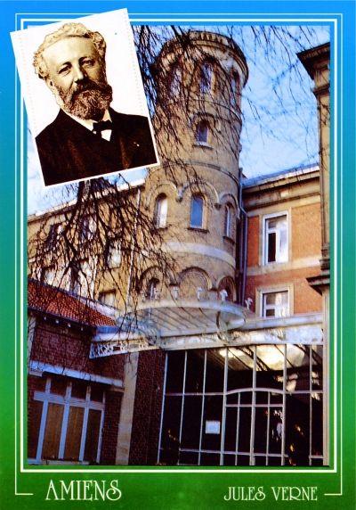 La Maison de Jules Verne (carte postale 1990). Credit: Maryanick Gaultier