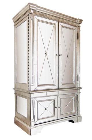 Antique Mirror Armoire - Complete Pad ®