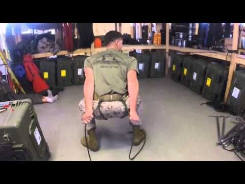 How to tie a Military Rappel Seat