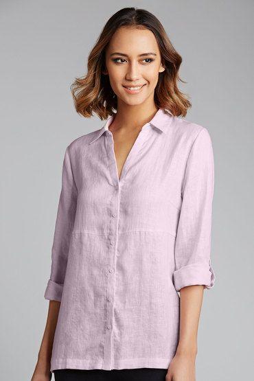 Capture Linen Shirt online - from EziBuy