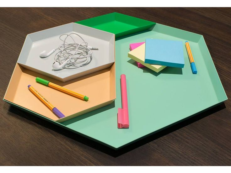 Kaleido Trays, designed by Clara von Zweigbergk for HAY.  Get The Originals at www.2ndfloor.gr