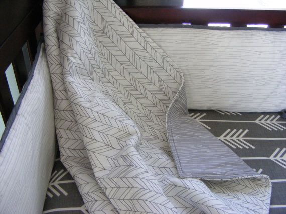 Hey, I found this really awesome Etsy listing at https://www.etsy.com/listing/177905167/grey-white-woodland-premium-baby-bedding