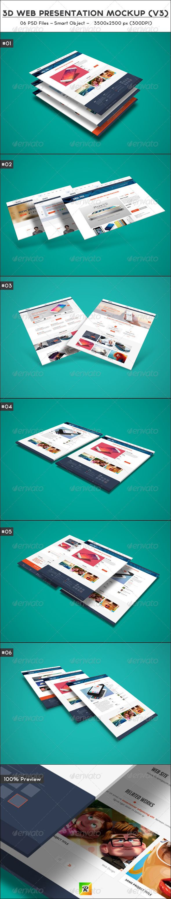 Features:  06 PSD Files Pixel Dimension: 3500×2500 Smart Object To Edit (file help included) High Resolution: 300 DPI Layered PSD File