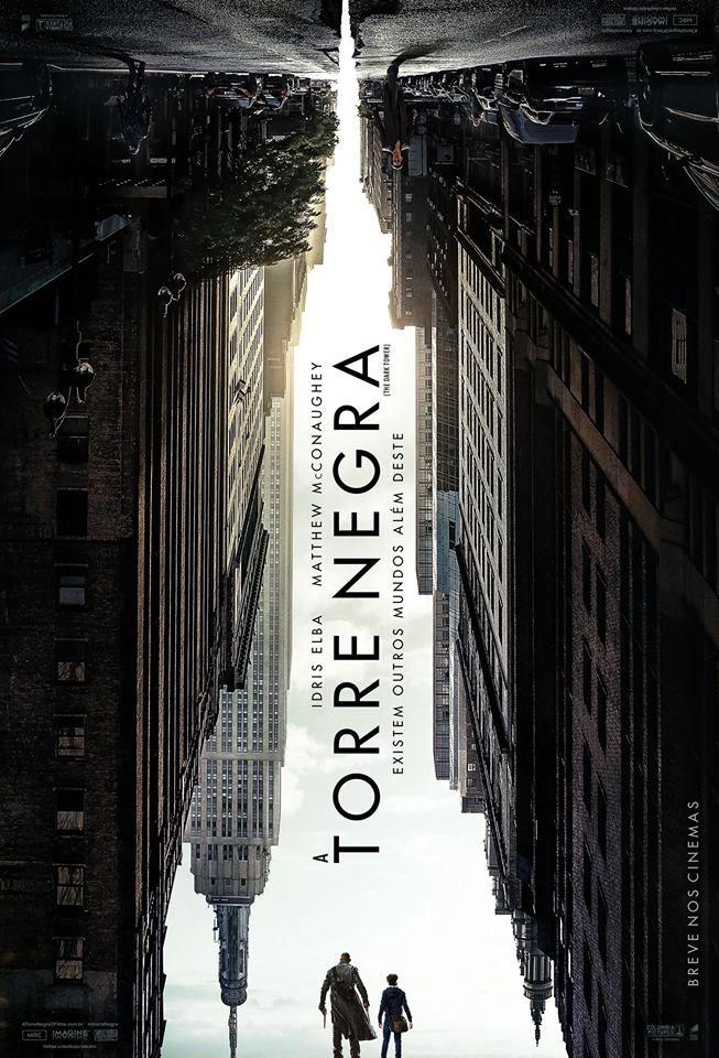 A torre negra Dir.: Nikolaj Arcel O filme 'A Torre Negra', que é baseado nos livros de Stephen King, acompanha a jornada do pistoleiro Roland Deschain através do Mundo Médio e outros para frustrar o objetivo do Rei Carmim de destruir a Torre Negra, o eixo que mantém todos os universos intactos.