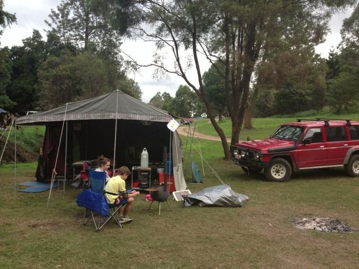 Glastonbury Creek Camping, near Gympie Qld Australia.  Quiet, private and dog friendly.