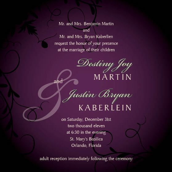 Wedding Invitation Wording Adults Only as awesome invitation ideas