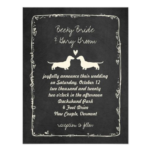 Best Chalkboard Save The Date Invitations Images On
