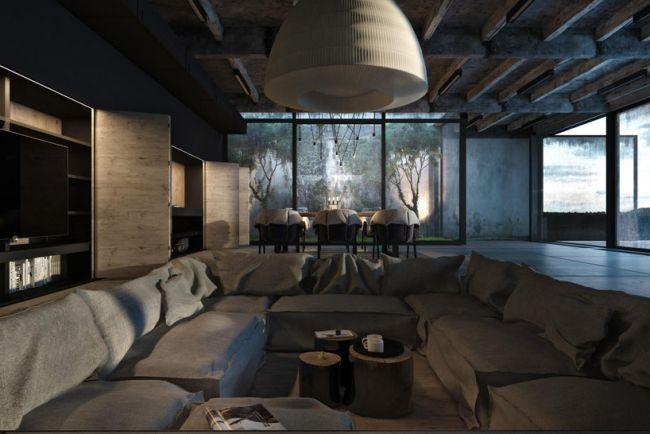 178 besten arquitectura interiorismo bilder auf for Modernes betonhaus