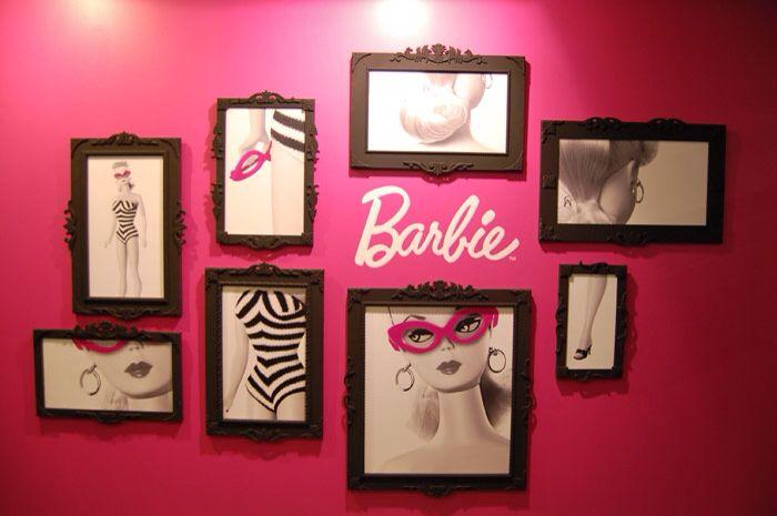 Barbie wall