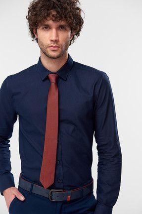 ac3f8d80c6fc9 Tendance Mode : 30 Cravates pour homme tendances 2019 Cravate Rouge Bordeaux