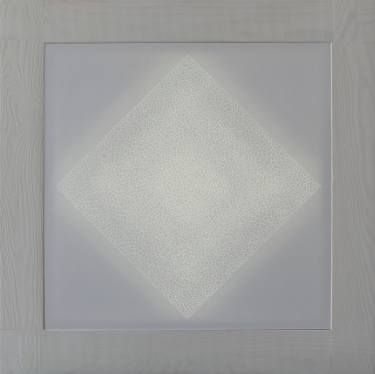 "Saatchi Art Artist Mónica Trastoy; Painting, ""square in light"" #art"