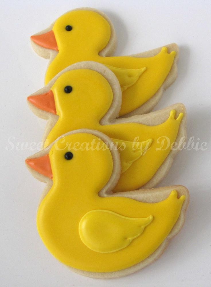 Sweet Creations by Debbie: Rubber Duckie Cookies