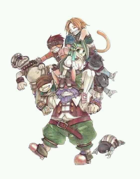 tantalus. Final Fantasy 9